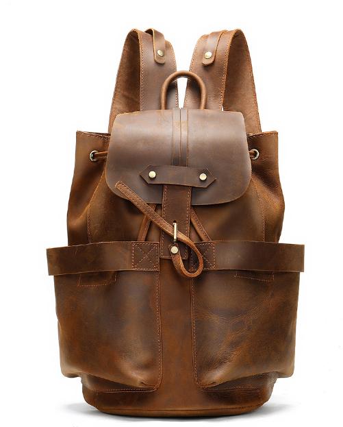 Мужской кожаный рюкзак Buffalo Bags 19395 - фото 1