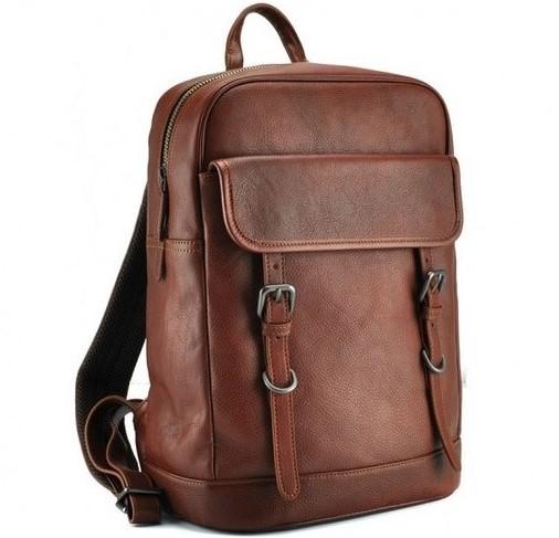 Кожаный рюкзак TIDING 12961 - фото 1