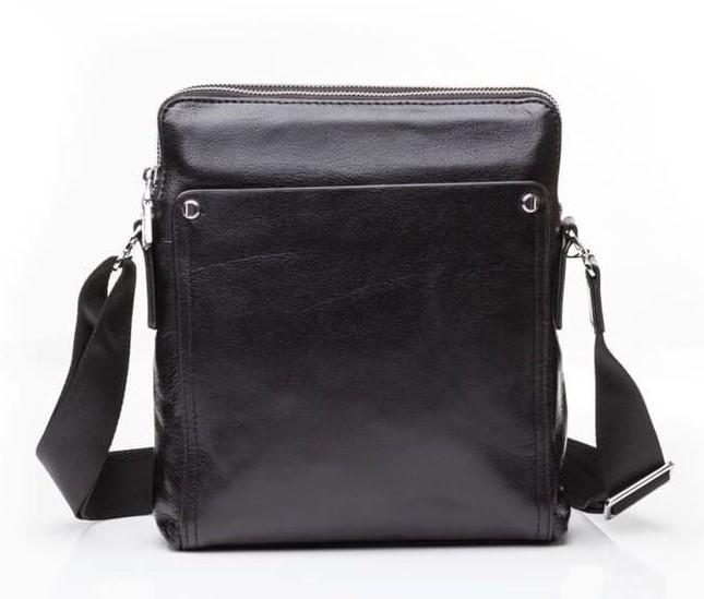 Кожаная сумка через плечо Tiding M5861-1A 11441 - фото 1