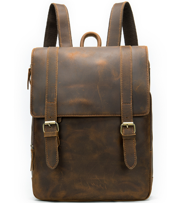 Мужской кожаный рюкзак Buffalo Bags 14324 - фото 1