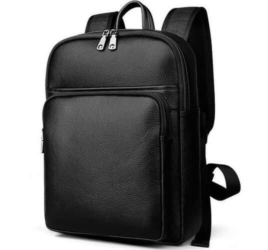Кожаный мужской рюкзак TIDING 12957 - фото 1
