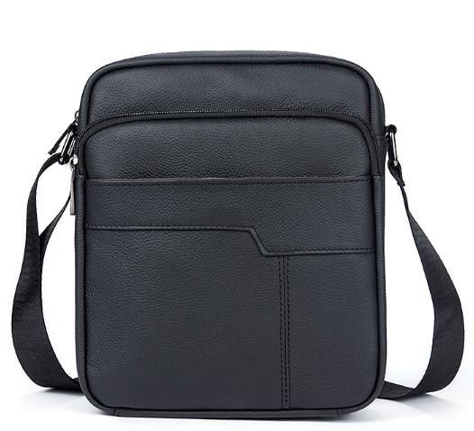Мужская кожаная сумка Buffalo Bags 17613 - фото 1