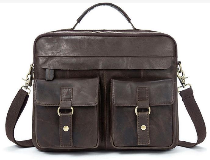 Мужская кожаная сумка Buffalo Bags 11083 - фото 1