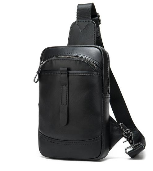 Мужской кожаный рюкзак через плечо Buffalo Bags 18371 - фото 1