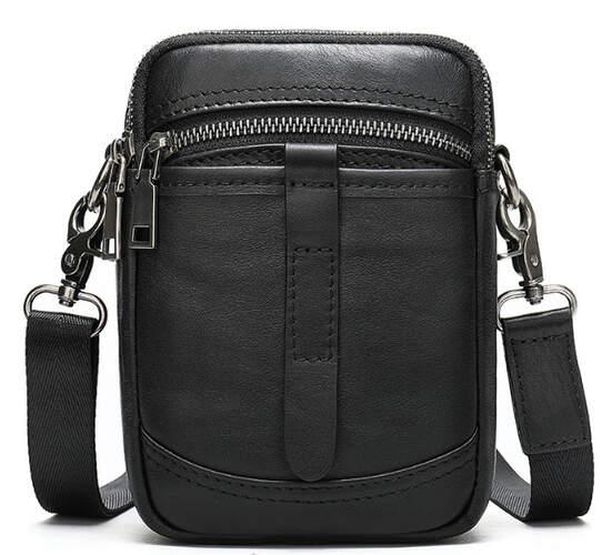 Мужская кожаная сумка Buffalo Bags 18368 - фото 1