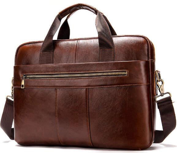 Кожаный портфель Buffalo Bags 18385 - фото 1