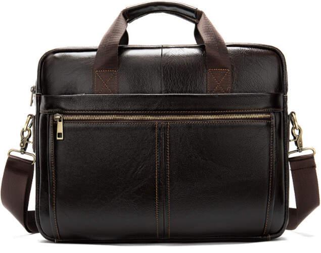 Кожаный портфель Buffalo Bags 18387 - фото 1