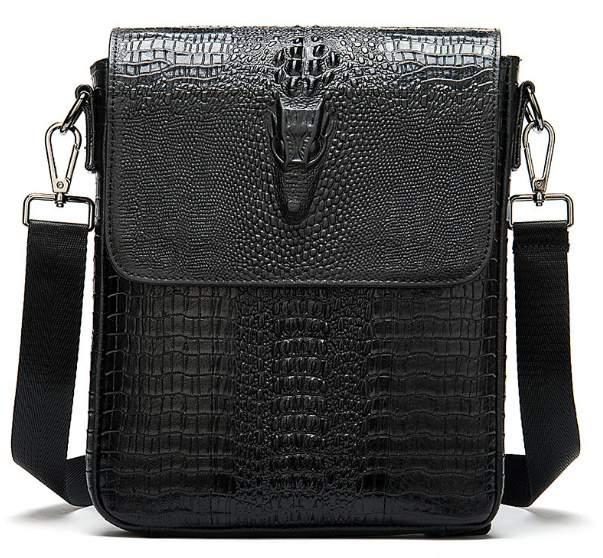 Мужская кожаная сумка Buffalo Bags 18369 - фото 1