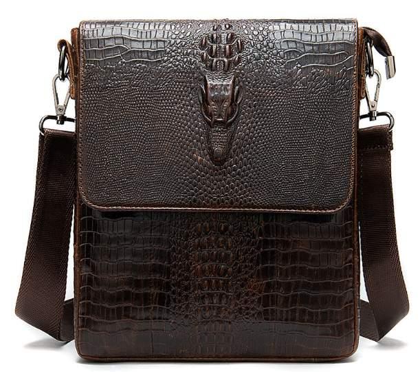 Мужская кожаная сумка Buffalo Bags 18370 - фото 1