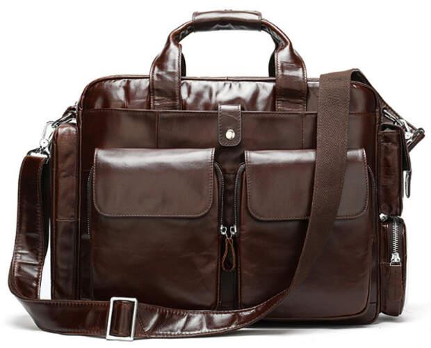 Кожаный портфель Buffalo Bags 18392 - фото 1