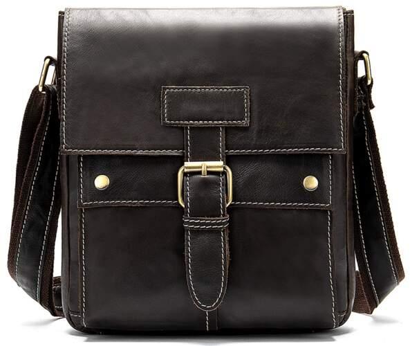 Мужская кожаная сумка Buffalo Bags 13085 - фото 1