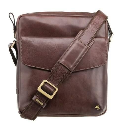 Мужская кожаная сумка Visconti Vesper 13936 - фото 1