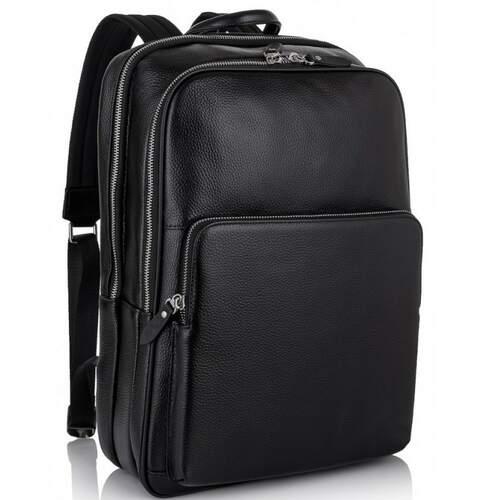 Кожаный рюкзак TIDING 19518 - фото 1