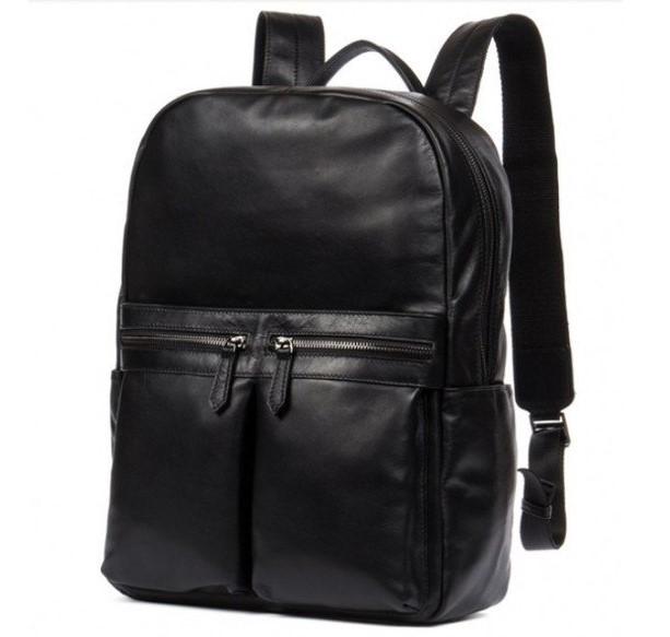 Кожаный мужской рюкзак TIDING 12661 - фото 1