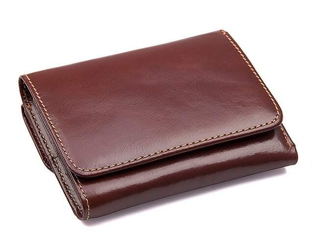 Мужской кожаный кошелек Buffalo Bags 11296 - фото 1