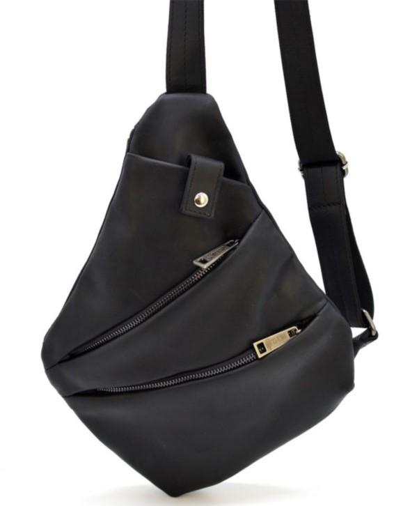 Кожаный рюкзак на одно плечо TARWA 19372 - фото 1