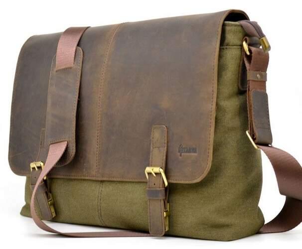 Мужская сумка через плечо TARWA 17460 - фото 1