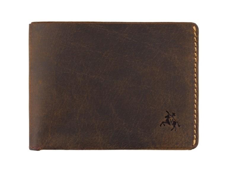 Мужской кожаный кошелек Visconti Dollar 17906 - фото 1