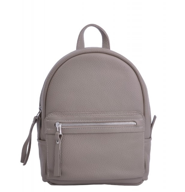 Кожаный рюкзак JIZUZ SPORT BEIGE 4549 - фото 1