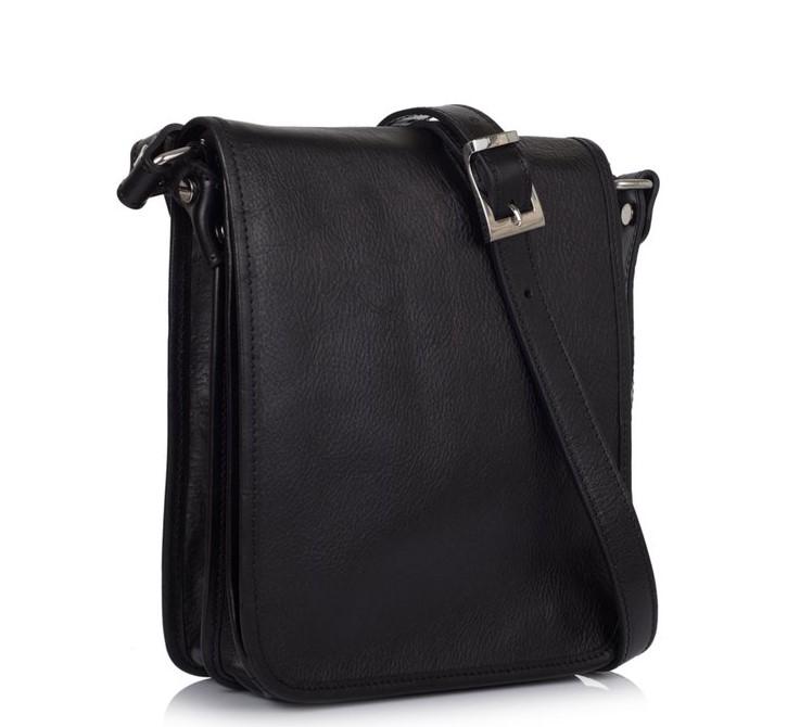 Кожаная сумка-мессенджер Virginia Conti (Италия) 11402 - фото 1