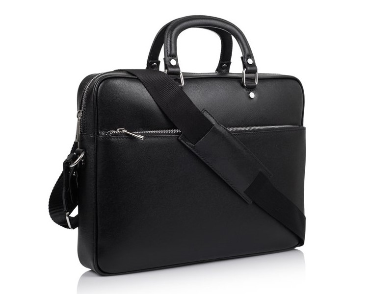 Мужской кожаный портфель Virginia Conti (Италия) 12238 - фото 1