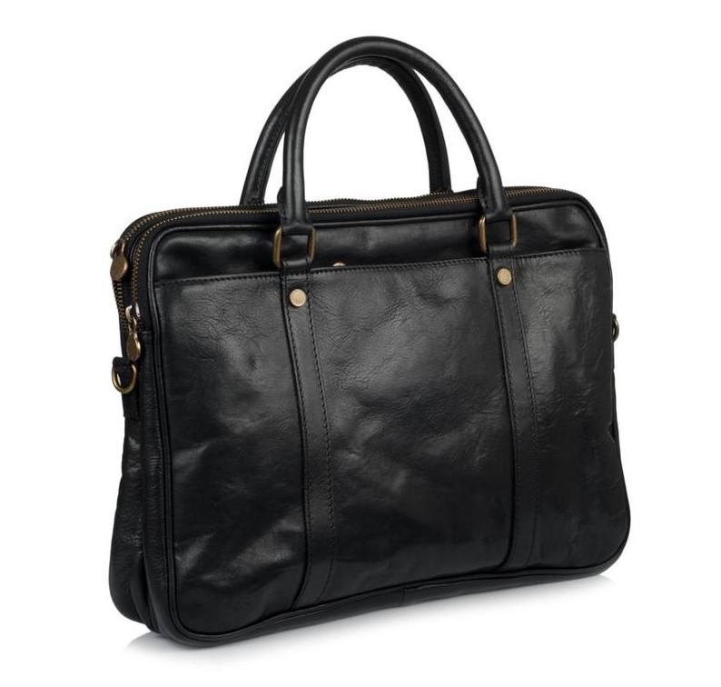 Мужской кожаный портфель Virginia Conti (Италия) 12140 - фото 1
