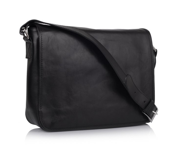 Кожаная сумка-мессенджер Virginia Conti (Италия) 11401 - фото 1