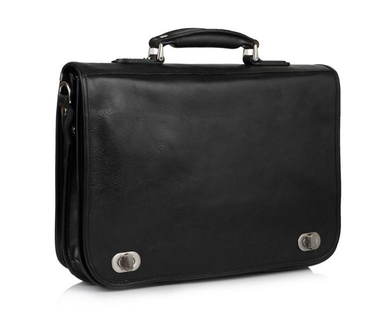 """Кожаная сумка для ноутбука 15,6"""" Virginia Conti (Италия) 12241 - фото 1"""
