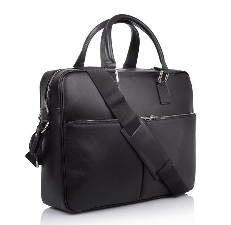 Мужской кожаный портфель Virginia Conti (Италия) 12196 - фото 1