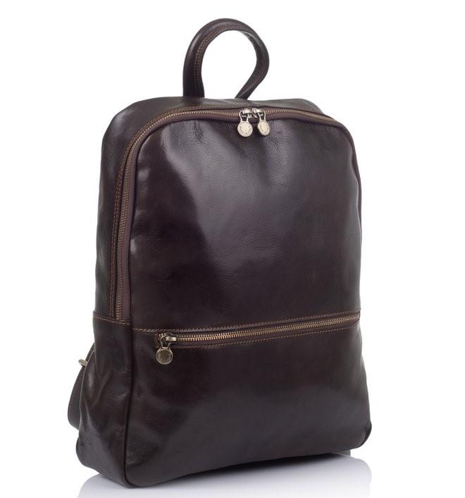Мужской кожаный рюкзак Virginia Conti (Италия) 12277 - фото 1