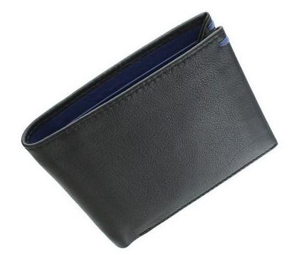 Мужской кожаный кошелек Visconti Slim 11251 - фото 1