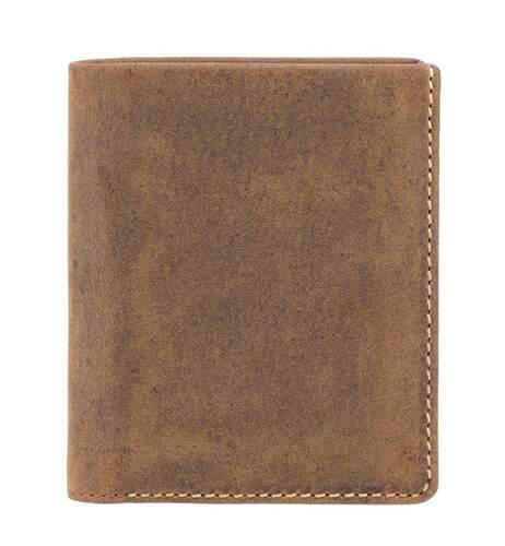 Мужской кожаный кошелек Visconti Slim 11250 - фото 1
