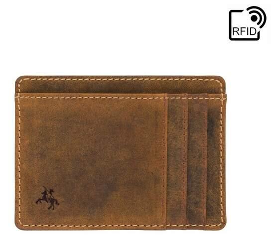 Картхолдер кожаный VISCONTI 17899 - фото 1